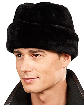 frr Black Sheared Beaver Russian Cossack Hat at Amazon Men s ... 77a3ed5662f