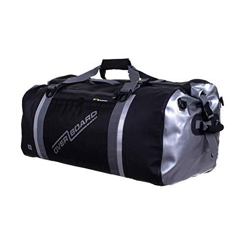 OverBoard Waterproof Pro-Sports Duffel Bag, Black, 90-Liter