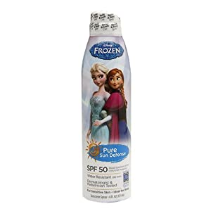 Pure Sun Defense Disney Frozen Sunscreen Spray SPF 50