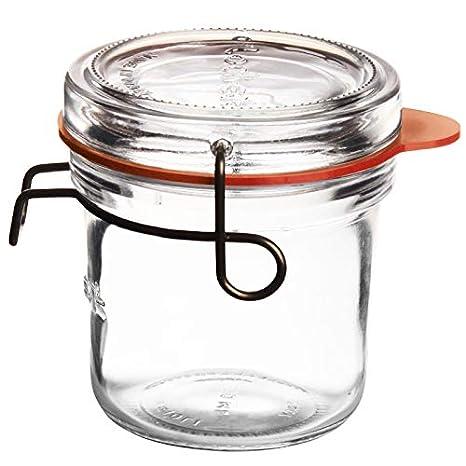 Wshuhouui Tanque Sellado Resistente Al Calor Botella De Vidrio ...