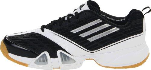 Noir White 9 Blanc Volleio M argent Us Adidas Chaussures Black Mã©tallisã© Intã©rieur running metallic Volley Silver Iqx8Z
