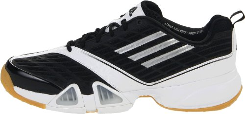Chaussures argent Adidas Noir Us Black Volleio Mã©tallisã© Volley 9 Intã©rieur Blanc M running Silver metallic White XABtqA