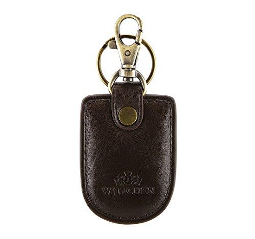 WITTCHEN Catena chiave, Marrone, Dimensione: 7x4.5 cm - Materiale: Pelle di grano - 21-2-008-4