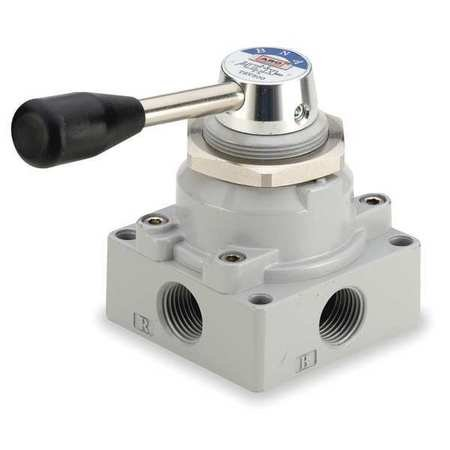 ARO M514LR Manual Air Control Valve, 4-Way, 1/2in NPT by ARO