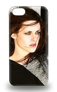 Durable Defender Case For Iphone 5/5s Tpu Cover Kristen Stewart American Female KK Kris KStew KST The Twilight Saga Into The Wild