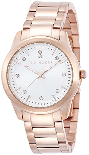 Ted Baker Three-Hand Stainless Steel - Rose-Gold Women's watch #TE4095