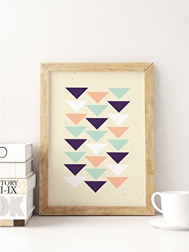 Aztec Print, Geometric Art, Aztec Triangles Poster, Aztec Wall Art, Home Decor, Tribal Print, Geometric Print, Aztec Poster