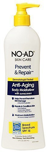 NO-AD Prevent & Repair Anti-Aging Body Moisturizer SPF 15, L