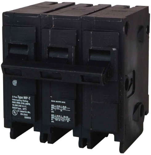 3 Pole Type - MP350 50-Amp Three Pole Type MP-T Circuit Breaker