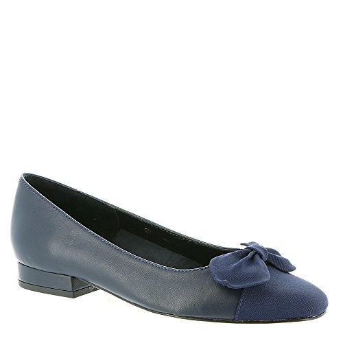 Vaneli Womens Favor Ballet Flat Navy-navy