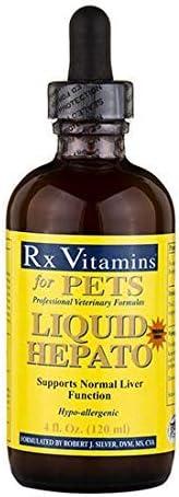 Rx Vitamins for Pets – Liquid Hepato 4 oz