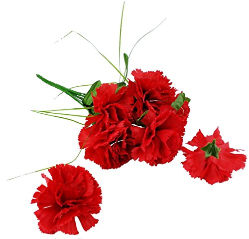 MM-TJ-Products-Artificial-Red-Carnation-Bush-7-Stems-2-Bushes