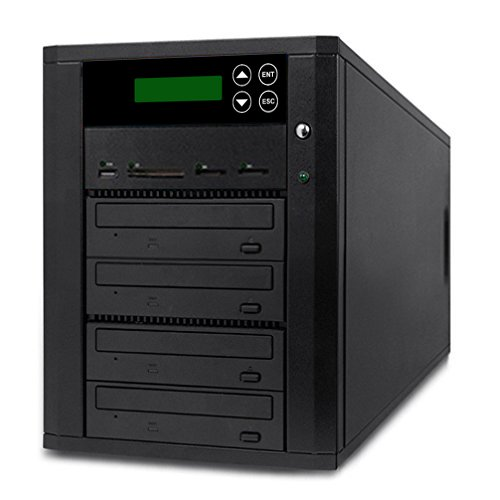Acumen Disc DV-903-SSP Flash Memory Drive to Media Disc Duplicator with 1-3 Target DVD/CD Burners (with MS, CF, SD, MMC, USB Slots) by Acumen Disc