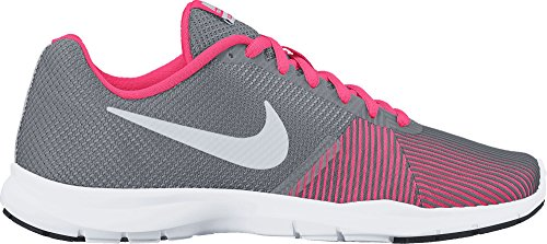 Nike Donna Flex Bijoux Cross Trainer Cool Grigio Metallizzato Argento 006