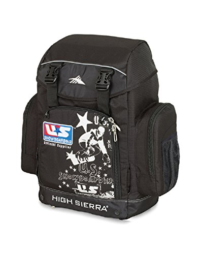 High Sierra Snowboard Team Boot Bag Snowboard Bag, Black