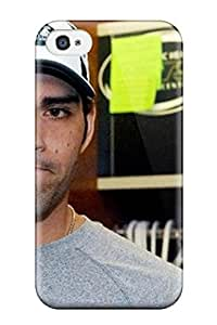 4858169K20806167 Iphone Case - Tpu Case Protective For Iphone 4/4s- American Football Quarterback hjbrhga1544