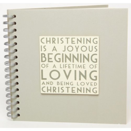 East Of India Christening Guest Book New Design For 2012