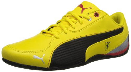 yellow puma shoes ferrari