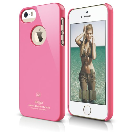 Elago S5 Slim Fit Case for iPhone 5/5S + Logo Protection ...
