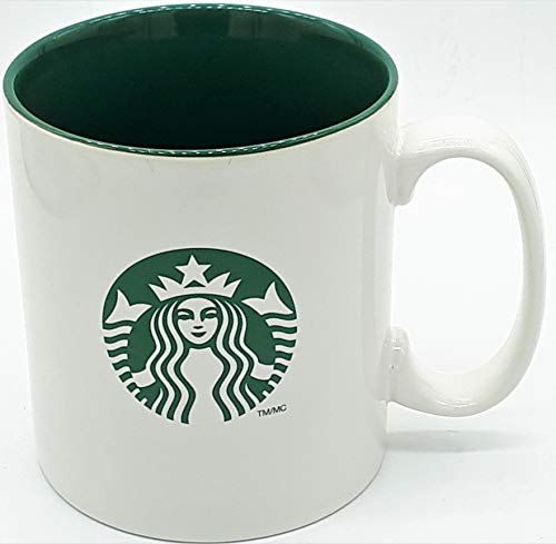2012 Ceramic Mug - Starbucks 2012 Green And White Classic Siren Logo Ceramic Mug 558ml