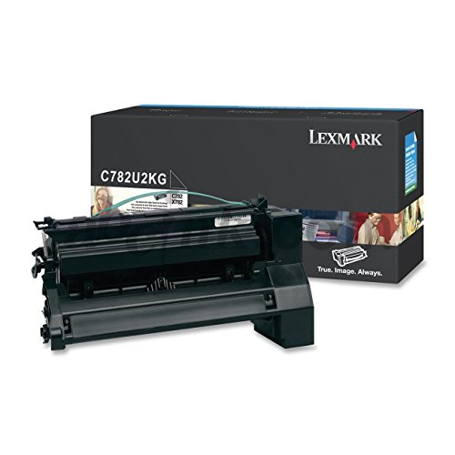 LEXMARK C782U1YG - Lexmark C782 XL X782 XL Extra High Yield Yellow Return Program (C782 Yellow High Yield)