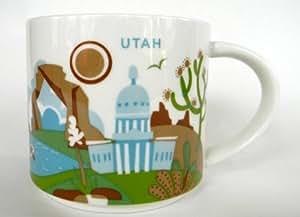 Amazon Com Starbucks Utah You Are Here Coffee Tea Mug