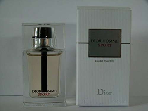 Dior Homme Sport Miniature For Men, 0.34 oz EDT -Name Brand Cologne Sample-Vials Included-
