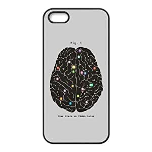 iPhone 5 5s Cell Phone Case Black Your Brain On Video Games Cnyrc