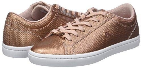 Lacoste Lt Pink Wht Caw Damen 2 Pnk 318 Sneaker 208 Straightset qAxSqr