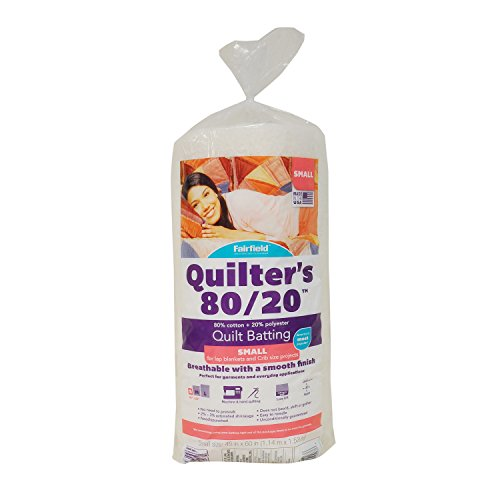 - Fairfield QB4512 Quilters, White, 45