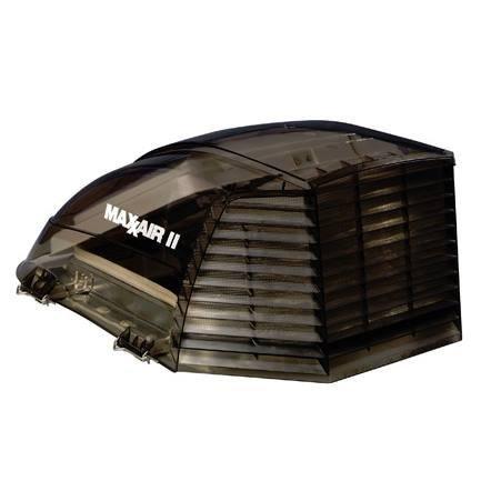- Maxxair 00-933073 II Vent Cover-Smoke