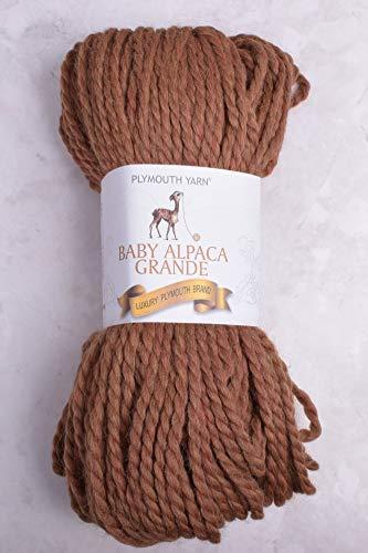 (Plymouth Baby Alpaca Grande 100 Baby Alpaca Yarn 7753 Gold Heather)