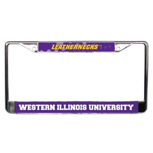 VictoryStore License Plate Frame - Western Illinois University - License Plate Fram