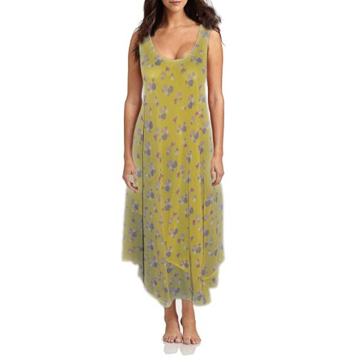 Yellow Viscose Maternity Wear long gown for valentines day for Women