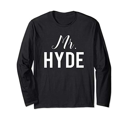 Dr. Jekyll and Mr. Hyde LONG SLEEVE T-Shirt Couple -