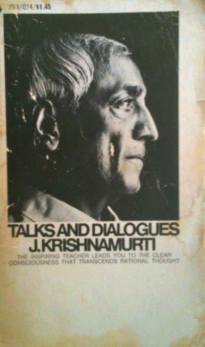 Vintage Avon Owl - Talks and Dialogues J. Krishnamurti