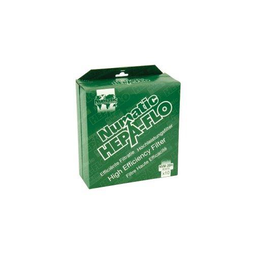 Numatic NVM-2BH Lot de 10 sacs pour aspirateur filtre HEPA