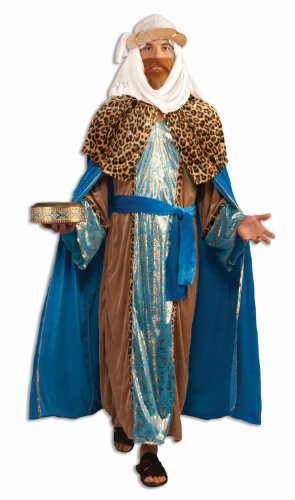 Forum Novelties Sapphire Nativity Wiseman Costume, Blue, One Size