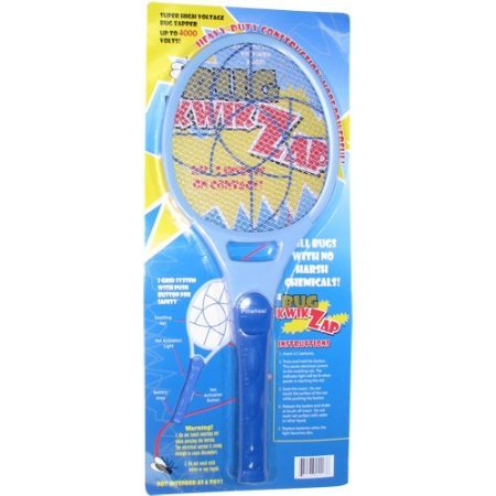 BugKwikZap Most Powerful for Large Bugs / Model - Pinwheel / Astonishing 4000 Volts / 10PK by BugKwikZap