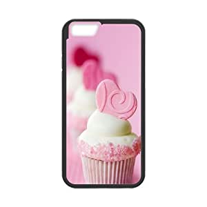 Pink Wafer iPhone 6 4.7 Inch Cell Phone Case Black vaih