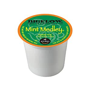 Bigelow K-Cup for Keurig Brewers, Mint Medley Tea (Pack of 96)