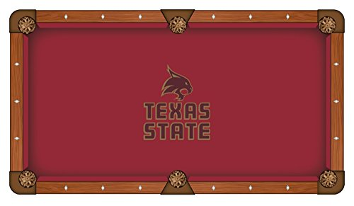 NCAA 8ft Pool Table Cloth by Holland Bar Stool - Texas State