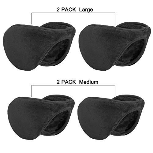 Metog Winter Outdoor Earmuffs Fleece Ear Warmer 4 ()