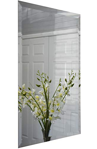 Mirrors and More Rectangle Frameless Beveled Bath Mirror|20