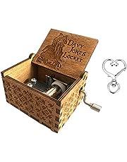 Cuzit - Caja de música de Madera, diseño de Piratas del Caribe
