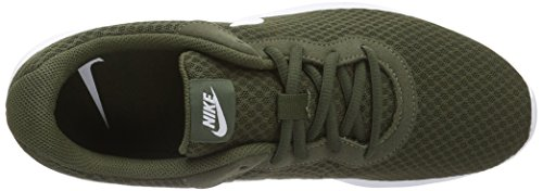Nike Tanjun, Zapatillas para Hombre Verde (Cargo Khaki/White)