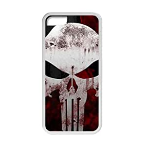 Punisher Logo Cell Phone Case for Iphone 5C