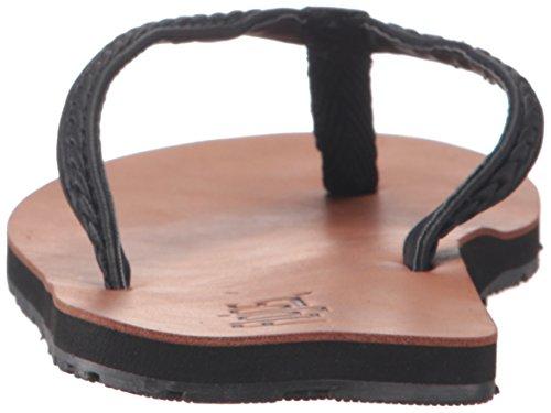 Kaliey Kvinners Flat Sort Flojos Sandal 5BqT7Oxwnx