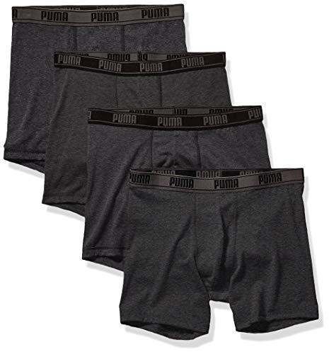 PUMA Men's 4 Pack Tech Boxer Brief