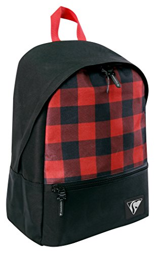 x Black and x 42 cm 15 Red Clairefontaine Backpack 30 x06qx7I